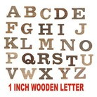 1 inch Height wooden letter - Adgreek