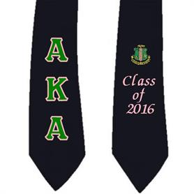 AKA Graduation Stoles - Adgreek