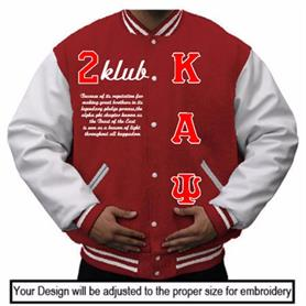 KAY Leather Varsity Jacket - Adgreek