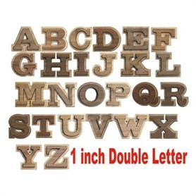 1 inch Double letter - Adgreek