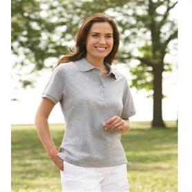 Jerzees Ladies Cotton Pique Polo - Adgreek