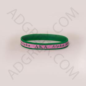 Alpha Kappa Alpha Wristband1 - Adgreek