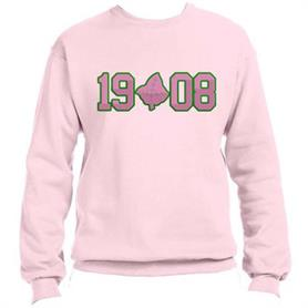 1908 Pink Sweat Top(19IVY08 Pink On Green) - Adgreek