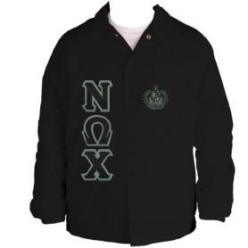 Nu Omega Chi Black Line Jacket1 - Adgreek