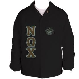 Nu Omega Chi Black Line Jacket2 - Adgreek