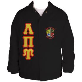 Lambda Pi Upsilon Black Line Jacket2 - Adgreek