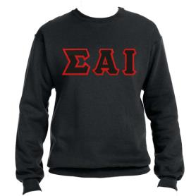 Sigma Alpha Iota Black Crewneck1 - Adgreek