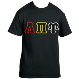 Lambda Pi Upsilon Black Tshirt1 - Adgreek