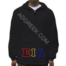 Sigma Iota Alpha Black Pullover1 - Adgreek