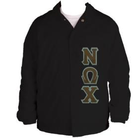 Nu Omega Chi Black Line Jacket5 - Adgreek