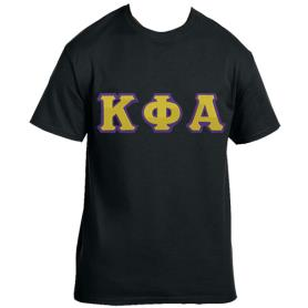 Kappa Phi Alpha Black Tshirt1 - Adgreek