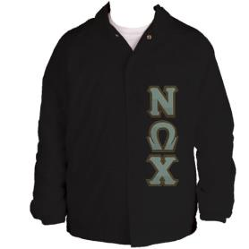 Nu Omega Chi Black Line Jacket6 - Adgreek