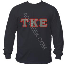 Tau Kappa Epsilon Black LST1 - Adgreek