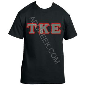 Tau Kappa Epsilon Black Tshirt1 - Adgreek