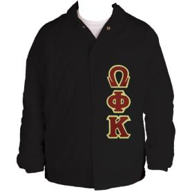 Omega Phi Kappa Black Line Jacket4 - Adgreek