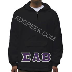 Sigma Lambda Beta Black Pullover1 - Adgreek
