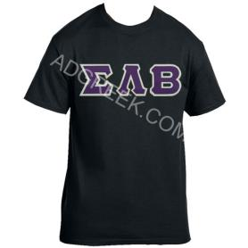 Sigma Lambda Beta Black Tshirt1 - Adgreek