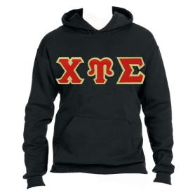 Chi Upsilon Sigma Black Hood2 - Adgreek