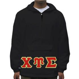 Chi Upsilon Sigma Black Pullover Jacket2 - Adgreek
