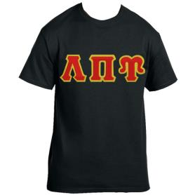 Lambda Pi Upsilon Black Tshirt4 - Adgreek