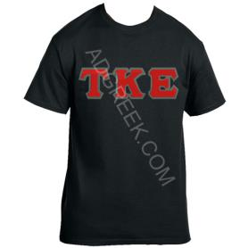 Tau Kappa Epsilon Black Tshirt2 - Adgreek