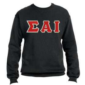 Sigma Alpha Iota Black Crewneck2 - Adgreek