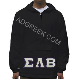 Sigma Lambda Beta Black Pullover2 - Adgreek