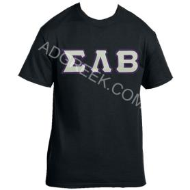 Sigma Lambda Beta Black Tshirt2 - Adgreek