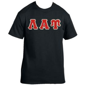 Lambda Alpha Upsilon Black Tshirt5 - Adgreek