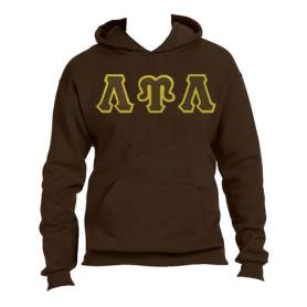 Lambda Upsilon Lambda Brown Hoodie1 - Adgreek