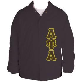 Lambda Upsilon Lambda Brown Line Jacket5 - Adgreek