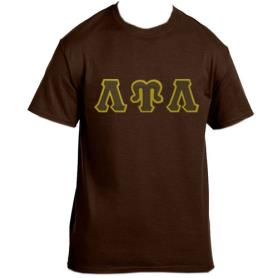 Lambda Upsilon Lambda Brown Tshirt2 - Adgreek