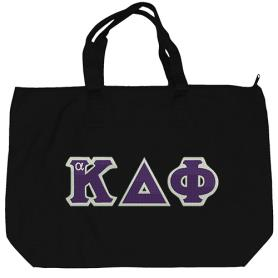 Alpha Kappa Delta Phi Black Tote Bag1 - Adgreek