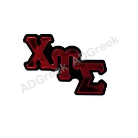 Chi Upsilon Sigma Big Pin - Adgreek