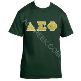 Delta Sigma Phi Forest Green Tshirt1 - Adgreek