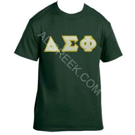 Delta Sigma Phi Forest Green Tshirt2 - Adgreek