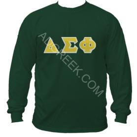Delta Sigma Phi Forest Green LST1 - Adgreek
