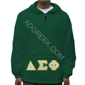 Delta Sigma Phi Forest Green Pullover2 - Adgreek