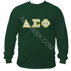 Delta Sigma Phi Forest Green LST2 - Adgreek