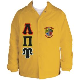 Lambda Pi Upsilon Gold Line Jacket1 - Adgreek