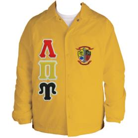 Lambda Pi Upsilon Gold Line Jacket4 - Adgreek