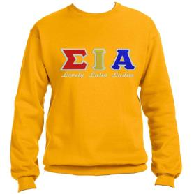 Sigma Iota Alpha Gold Crewneck4 - Adgreek
