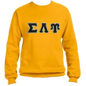 Sigma Lambda Upsilon Gold Crewneck1 - Adgreek