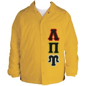 Lambda Pi Upsilon Gold Line Jacket5 - Adgreek