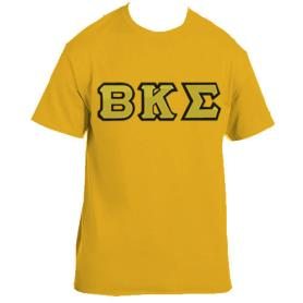 Beta Kappa Sigma Gold Tshirt2 - Adgreek