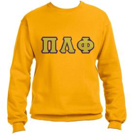 Pi Lambda Phi Gold Crewneck1 - Adgreek