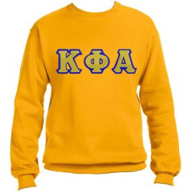 Kappa Phi Alpha Gold Crewneck2 - Adgreek