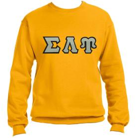 Sigma Lambda Upsilon Gold Crewneck2 - Adgreek