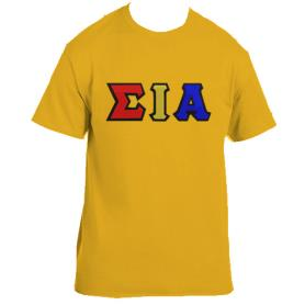 Sigma Iota Alpha Gold Tshirt1 - Adgreek