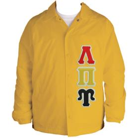 Lambda Pi Upsilon Gold Line Jacket8 - Adgreek